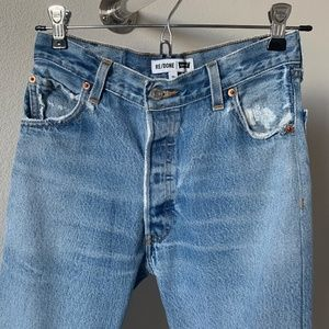 RE/DONE LEVI'S HIGH RISE ANKLE CROP 24